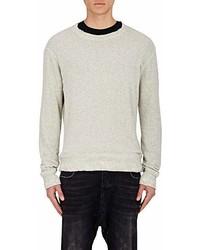 R 13 R13 Distressed Sweatshirt