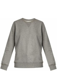 Valentino Rockstud Untitled 8 Cotton Blend Sweatshirt