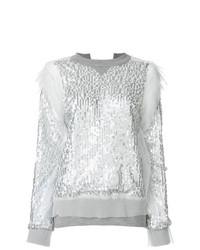 Sacai Sequined Sweatshirt