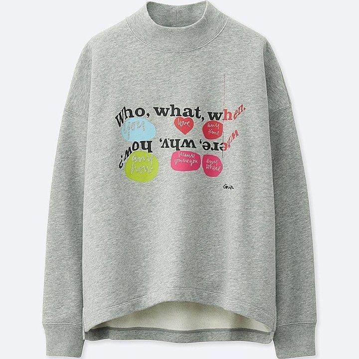 Uniqlo Sprz Ny Long Sleeve Sweatshirt