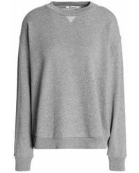 Alexander Wang T By Cotton Blend Terry Sweatshirt