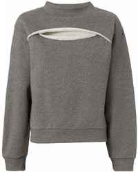 Alexander Wang T By Slit Front Sweatshirt