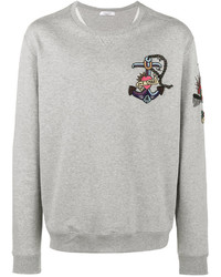 Valentino Tattoo Beaded Sweatshirt