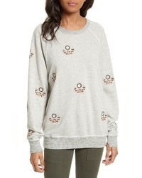The college embroidered sweatshirt medium 3747089