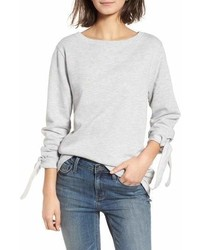 Tie sleeve sweatshirt medium 6990353