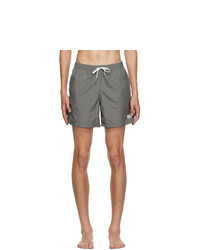 Bather Grey Solid Swim Shorts