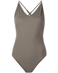 Anine Bing Cross Back Swimsuit