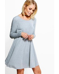 Luci basic long sleeve swing dress medium 862737