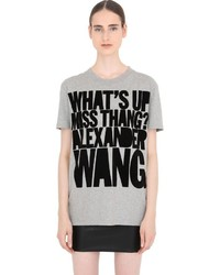House of Holland Alexander Wang Cotton Jersey T Shirt