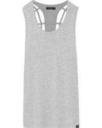 Koral Cutout Stretch Jersey Tank