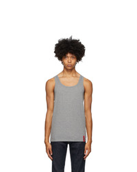 Hugo Grey Idol Tank Top