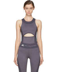 adidas by Stella McCartney Grey Yoga Comfort Tank Top