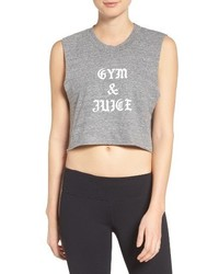 Private Party Gym Juice Crop Tank