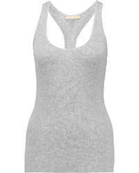 Michael Kors Michl Kors Collection Ribbed Knit Tank