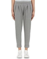 08sircus Tapered Leg Trousers Grey