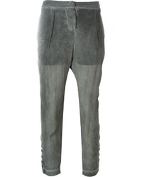 Lost found ria dunn sheer tapered trousers medium 4312341