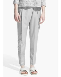 Mango Outlet Pleat Detail Trousers