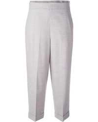 Tapered cropped trousers medium 4312338