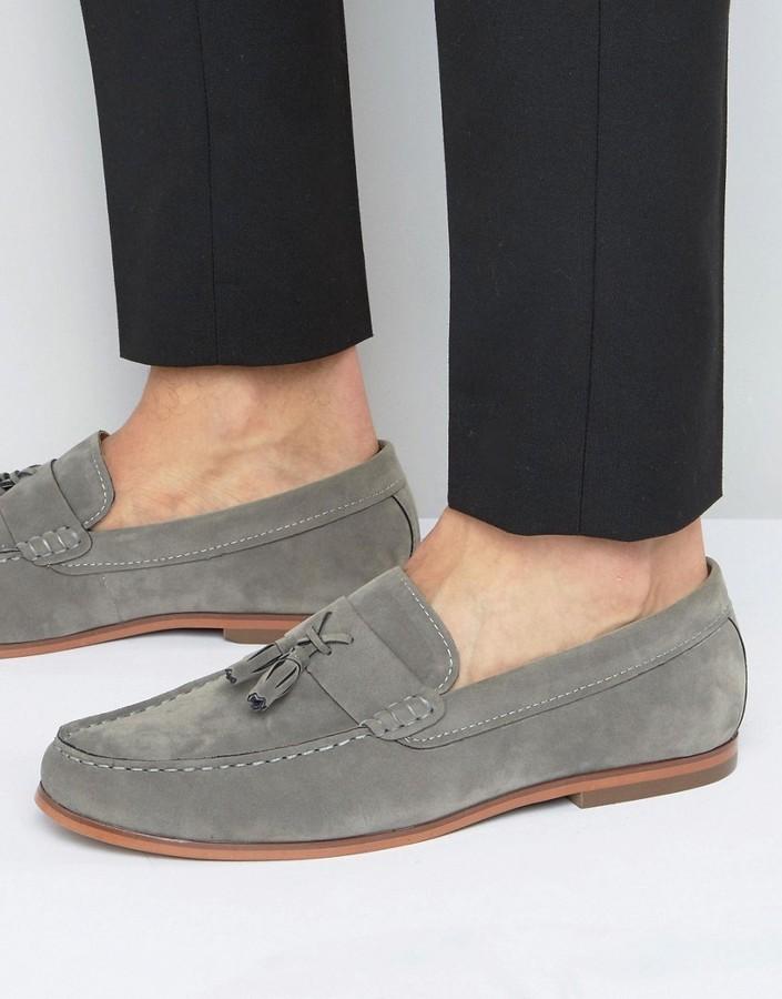 Lambretta Tassle Loafer Mens Shoes Blue