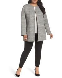 Plus size michl michl kors textured knit topper medium 4950694