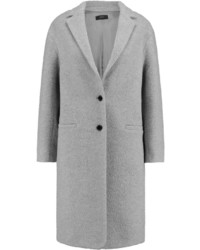 Joseph Teddy Textured Wool Blend Coat