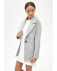 Forever 21 Wool Blend Boucle Coat