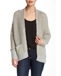 French Connection Gridlock Sparkle Wool Blend Cardigan