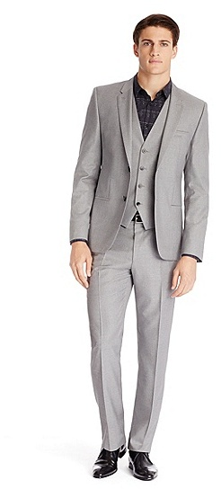 44584563 ... Hugo Boss Arnotwentonha Slim Fit Super 120 Italian Virgin Wool 3 Piece  Suit
