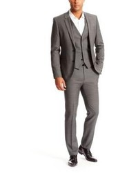 63db7ad4 ... Hugo Boss Awetwanshambrey Slim Fit Wool 3 Piece Suit 36r Grey