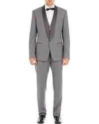 Dolce & Gabbana Three Piece Toile Tuxedo Grey