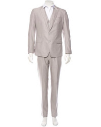 Dolce & Gabbana Wool Three Piece Suit