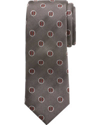 Cufflinks Inc. Boys Cufflinks Inc Baseball Silk Tie Big Boys Gray Ties
