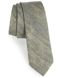 The Tie Bar Freehand Solid Linen Tie