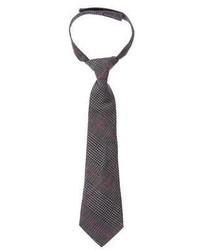 Gymboree Houndstooth Plaid Tie