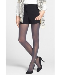 DKNY Hosiery Semi Sheer Tights Flannel Grey Tall