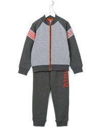 Armani Junior Logo Print Track Suit