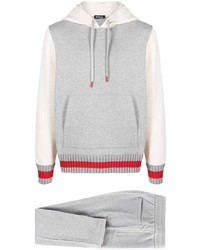Kiton Colour Block Knitted Tracksuit