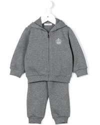 Dolce & Gabbana Kids Embroidered Crown Track Suit