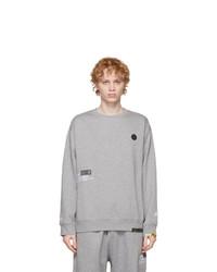 AAPE BY A BATHING APE Grey Sweatshirt And Lounge Pants Set
