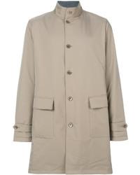 Band collar trench coat medium 4423904