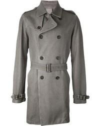 Bark Woven Trench Coat