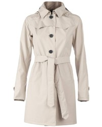 Belted trench coat medium 189422