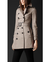 Burberry Double Cotton Twill Trench Coat