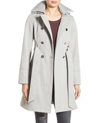 Hooded softshell trench coat medium 785560