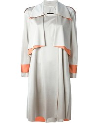 Ilja layered trench style coat medium 189421