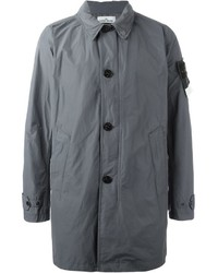 Stone Island Buttoned Up Raincoat