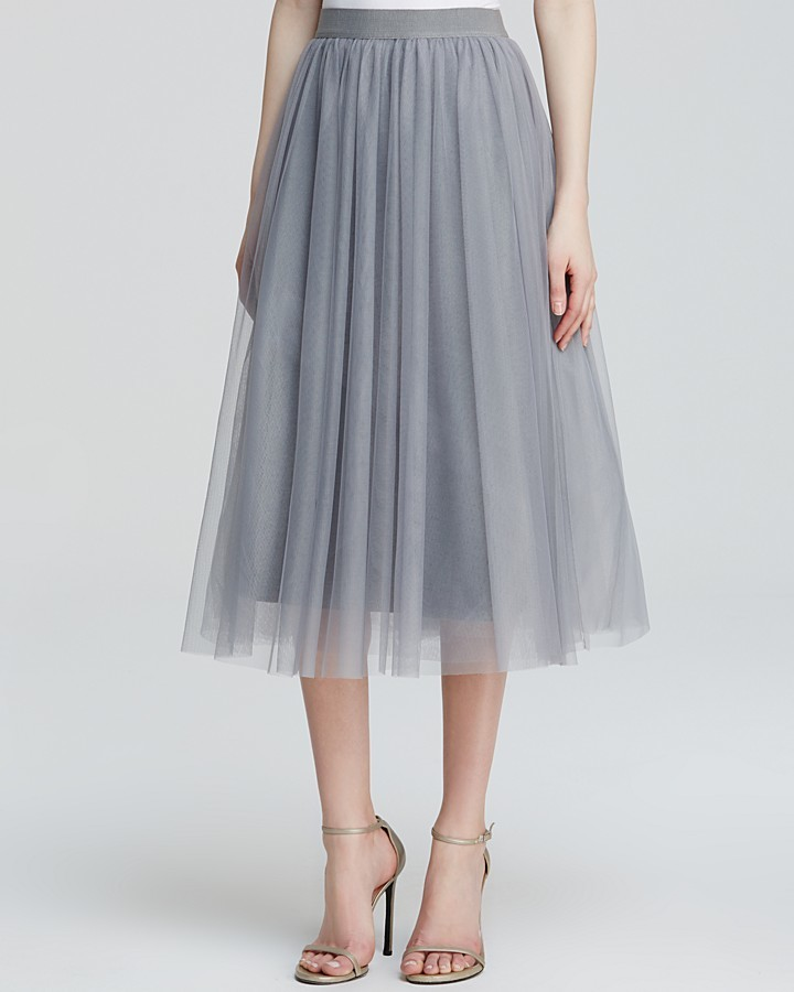 Bailey 44 Skirt Shadow Waltz Tulle Midi | Where to buy & how to wear