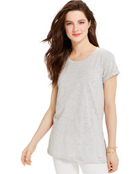 Tommy Hilfiger Side Split Tunic Tee