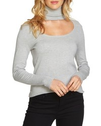 1state cutout turtleneck top medium 5267271