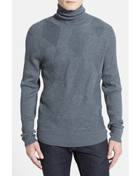 Calibrate Trim Fit Turtleneck Sweater